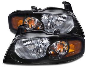 Fits 2004-2006 Nissan Sentra Se-R Headlights Left Right Pair Headlamps Set New