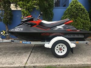 2010 Seadoo RXP X 255 RS on Boeing trailer Sea Doo Wollongong Wollongong Area Preview