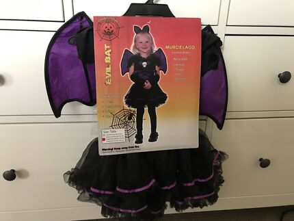 Halloween bat costume 2 yrs old