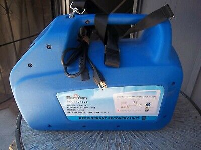 New Garrison Refrigerant Freon Refrigeration Gas Hvac Hrac Recovery Machine Unit