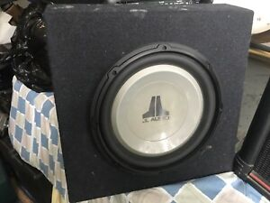Jl W12 subwoofer with sub box