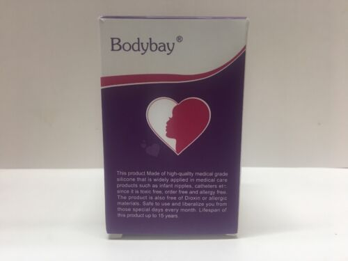 Small Menstrual Cup Bodybay Set Of 2 ~Small~New~Sealed