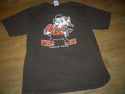Cleveland Browns 1946 SUPER-SIZED-ELF Brown T-Shirt,ANVIL QUALITY,GR8 CHEAP - Cheap Elves