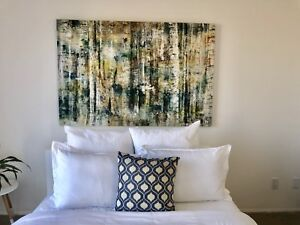 Large Modern Canvas Art fr Homesense- paid $343