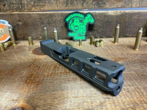 Raptor 3 Slide Glock 17 with RMR Serrations & Windows Ports Gen 3 Tungsten