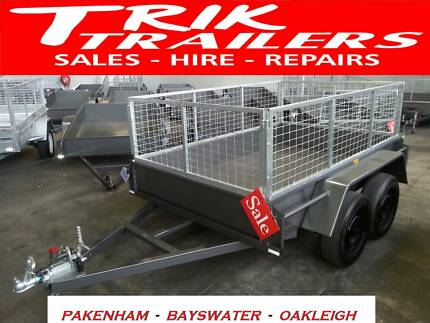 8x5 tandem trailer with cage Bayswater Knox Area Preview