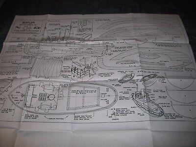 Bustler Tug Boat Plans