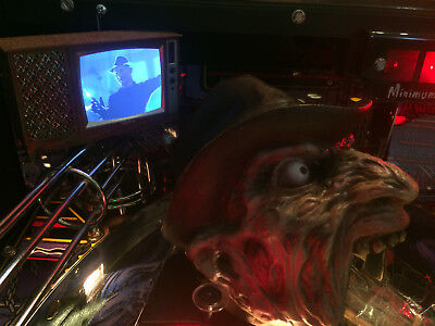 Freddy Pinball mod - *Blood splattered* TV with VIDEO and SOUND!