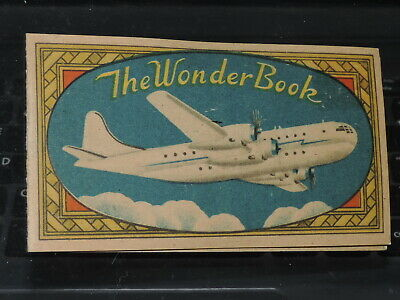 VTG Advertising THE WONDER BOEING 377 STRATOCRUISER Needle Book OCCUPIED JAPAN