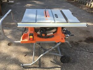 Table saw kijiji in guelph buy sell save with canadas 1 rigid 10 table saw with cart greentooth Choice Image