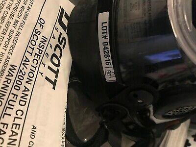 Scott Av-2000 Scba Full Mask Respirator 804069-28 Size Large