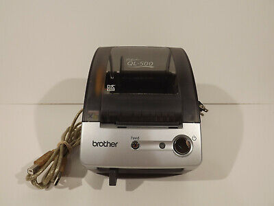 Brother P-touch Ql-500 2.5 Thermal Label Printer Printer Cord
