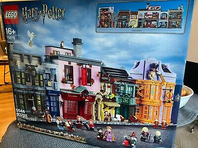 LEGO 75978 Harry Potter Diagon Alley - BRAND NEW & SEALED - IN HAND