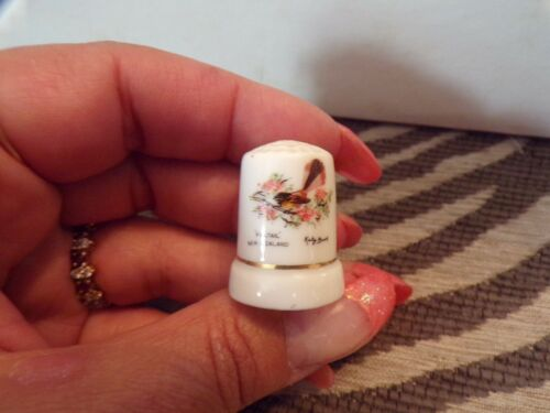 Collectible Thimble Fantail New Zealand