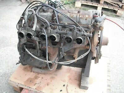 Triumph 2500 pi engine complete with injection and ancillaries