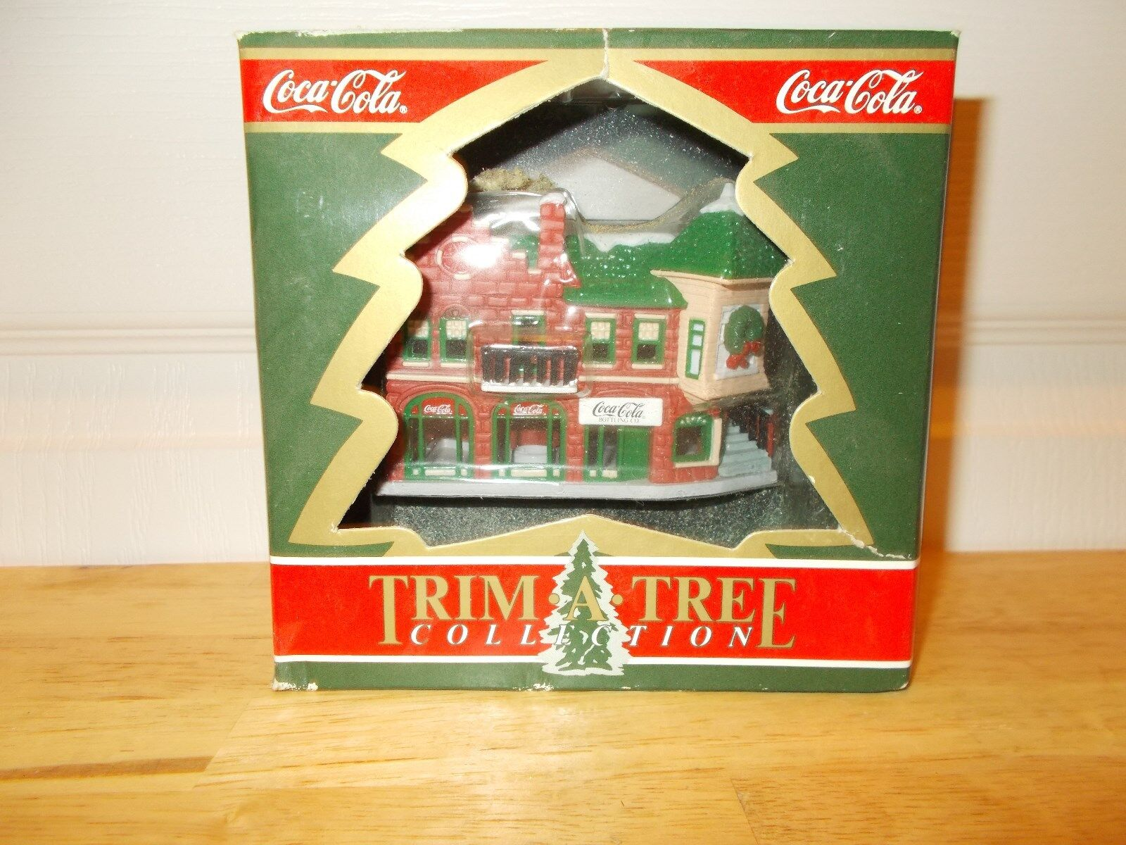 COCA COLA Trim A Tree Collection EARLY BOTTLING COMPANY Ornament - Box 1991