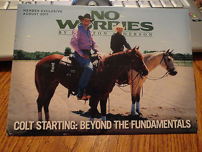NEW CLINTON ANDERSON  COLT STARTING BEYOND THE FUNDAMENTALS  DVD