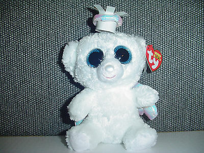 RETIRED TY Beanie Boo Boos Halo Bear 6