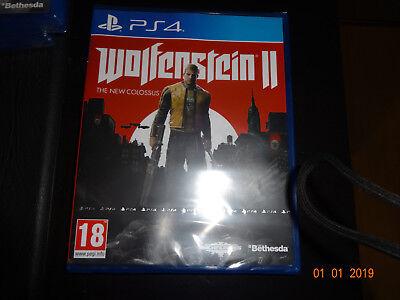 Wolfenstein 2 the new colossus  Ps4 VF intégrale - Neuf fr
