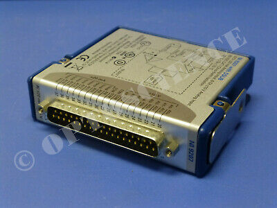 National Instruments Ni 9207 Cdaq Analog Input Module Voltage Current