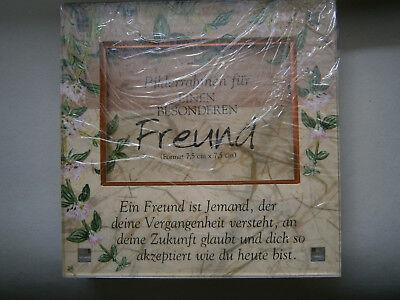 Rahmen für Bild mit Spruch ...besonderer Freund … Besonderes Geschenk, NEU