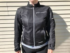 First Gear textile women's motorcycle jacket w/armour