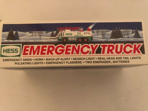 1996 Hess Toy Emergency Truck   100% Mint-in-Box