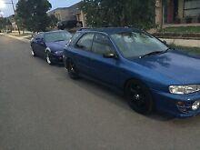 Subaru Impreza gc8 rare blue Officer Cardinia Area Preview