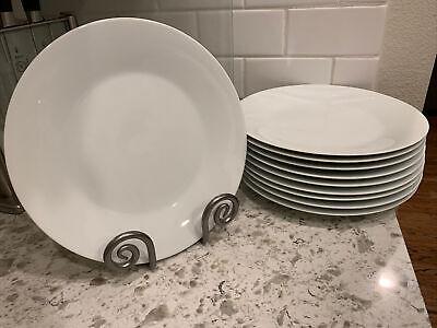Noritake Snowville Dinner Plates Set of Twelve (12) NEW