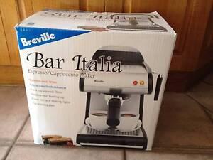 Breville Bar Italia Expresso Cappuccino Coffee Machine Dural Hornsby Area Preview