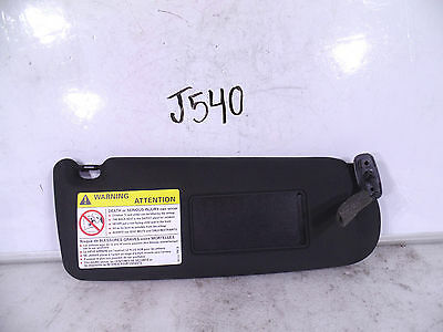 NEW OEM SUN VISOR SUNVISOR AUDI A8 S8 00-10 RH BLACK LIGHTED
