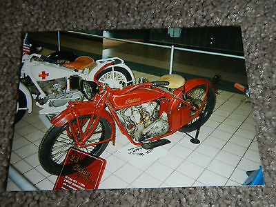 OLD VINTAGE MOTORCYCLE PICTURE PHOTOGRAPH INDIAN BIKE #5