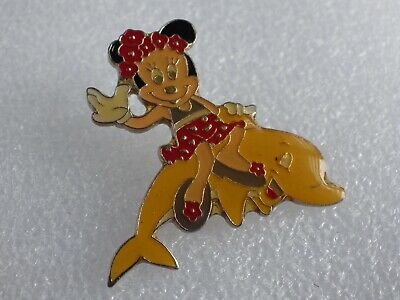 Pin's Vintage Lapel Pin Collector Character Minnie Dauphin Lot Disney 110