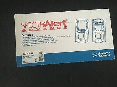 Nib New System Sensor Sep-sw Fire Alarm Strobe Alert Extender