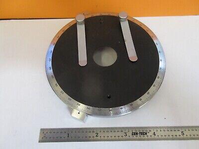Leitz Wetzlar Pol Rotable Stage Table Polarization Microscope As Pic 11-b-19