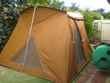 Coleman Classic Canvas Tent 3.35m X 3.05m & canvas tent in Perth Region WA | Camping u0026 Hiking | Gumtree ...