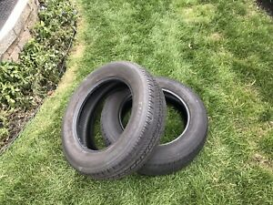 2 pneus d'été Bridgestone turanza 225-65r17