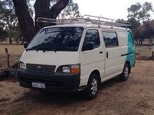 Toyota Hiace 2002 comfy and very reliable Perth CBD Perth City Preview