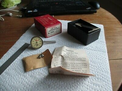Starrett 196b Universal Dial Indicator Back Plunger With 3 Extra Tips