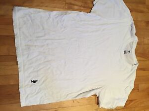 Large plain white Ralph Lauren T-shirt
