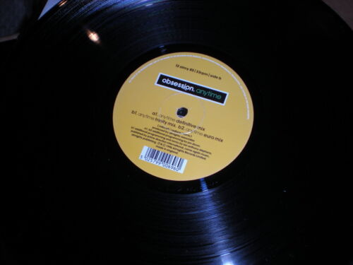 Obsession Anytime VINYL Definitive , Trinity, Euro mixes Jon Dixon