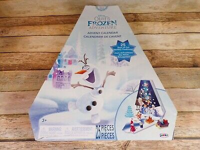 Frozen Disney Olaf's Adventure Advent Calendar (2017) - New Contents - NO BOX