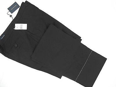 NEW $295 Polo Ralph Lauren Tailored Dress Chino Pants! 35 ITALY Flat Front Black - Tailored Dress Chino