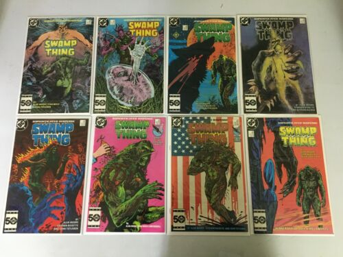 Swamp Thing Comic Lot #38-170 50 Diff 8.0 VF (1985-1996)