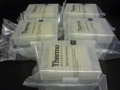 Thermo Scientific Matrix Filter Tips 1250 Ul 120 Tipsrack X 5 Racks Sealed