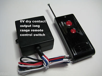 MSD 6V Dry Contact 0v out Long Range on-off remote control relay switch RS608