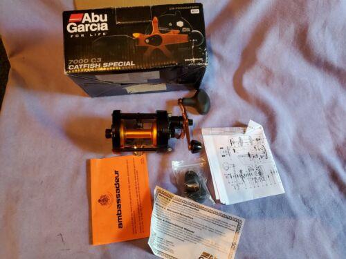 ABU GARCIA 7000C3 CATFISH SPECIAL REEL OPENED BOX