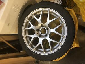 4 winter tires with Fast rims