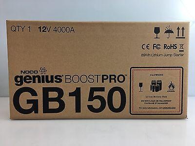 NOCO Genius Boost Pro GB150 - 12V 4000 UltraSafe Lithium Jump Starter Pack
