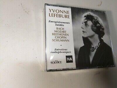 Yvonne Lefebure/Bach/Mozart/Beethoven/Chopin/Schumann(3 CDs Box Set)